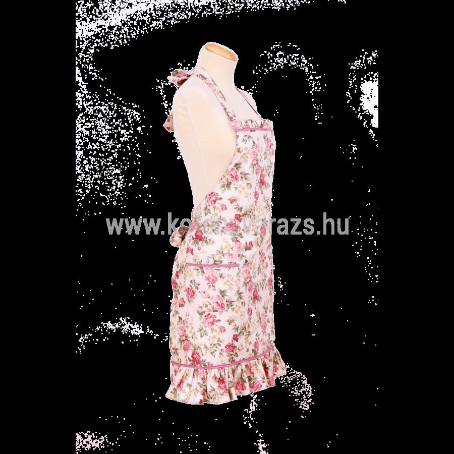8267f72bb3 JÁZMIN rózsaszín rózsás kötény - Női